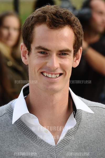Andy Murray arriving for the Burberry Prorsum catwalk show as part of London Fashion Week SS13, Kensington Gardens, London. 17/09/2012 Picture by: Steve Vas / Featureflash