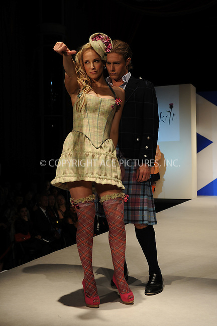 WWW.ACEPIXS.COM . . . . . ....April 5 2010, New York City....Models on the runway at the 8th annual 'Dressed To Kilt' Charity Fashion Show presented by Glenfiddich at M2 Ultra Lounge on April 5, 2010 in New York City.....Please byline: KRISTIN CALLAHAN - ACEPIXS.COM.. . . . . . ..Ace Pictures, Inc:  ..(212) 243-8787 or (646) 679 0430..e-mail: picturedesk@acepixs.com..web: http://www.acepixs.com