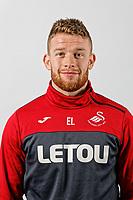 Eddie Lattimore  head shot  at The Fairwood Training Ground, Swansea, Wales, UK. Thursday 08 February 2018