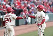 Bucknell at Arkansas baseball 2/18/2018