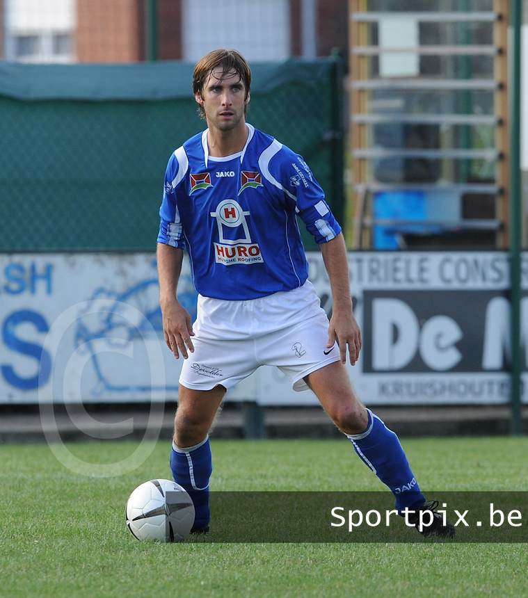 SK Oostnieuwkerke : Steven Vandeportaele.foto VDB / BART VANDENBROUCKE