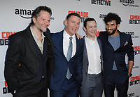 www.acepixs.com<br /> <br /> August 3 2017, LA<br /> <br /> (L-R) Florin Piersic Jr., Channing Tatum, Joseph Gordon-Levitt, Cornilieu Ulici arriving at the premiere of Amazon's 'Comrade Detective' at the ArcLight Hollywood on August 3, 2017 in Hollywood, California<br /> <br /> By Line: Peter West/ACE Pictures<br /> <br /> <br /> ACE Pictures Inc<br /> Tel: 6467670430<br /> Email: info@acepixs.com<br /> www.acepixs.com