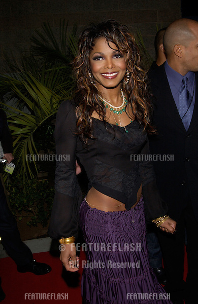 Pop star JANET JACKSON at the Billboard Music Awards at the MGM Grand, Las Vegas..04DEC2001..© Paul Smith/Featureflash