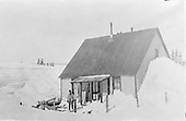 Car Inspector's house in winter.<br /> D&amp;RG  Cumbres, CO