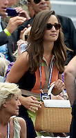 NEW YORK, NY- September 4, 2012: Pippa Middleton attends Day 9 of the 2012 U.S. Open Tennis Championships at the USTA Billie Jean King National Tennis Center in Flushing, Queens, New York. September 4, 2012. © MPI105/MediaPunch Inc. /NortePhoto.com<br /> <br /> **CREDITO*OBLIGATORIO** <br /> *No*Venta*A*Terceros*<br /> *No*Sale*So*third*<br /> *** No*Se*Permite*Hacer*Archivo**<br /> *No*Sale*So*third*