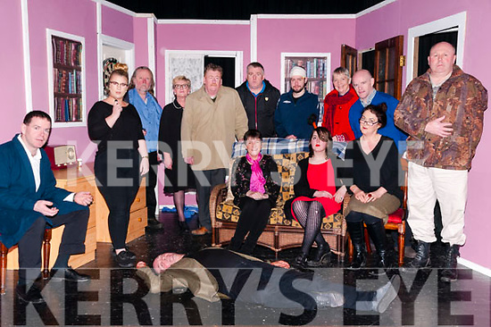 "What Time is  it in Bangkok: The cast of Zyber Drama group's production of John Fraher play ""What Time is it in Bangkok"" pictured at St. John's Arts Theatre, Listowel on Thursday night last. Include in the photo are Raphael Crowley, Maeve Burke, Noel King, Siobhan Keane, John Fraher, Tim Landers, Kevin McElligott, Marion Collins, Rory O'Mahony, John Patton, Mary Mills, Harley Cubberley, Margaret Slattery & George Lowe."