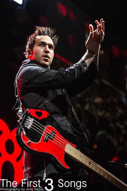 Pete Wentz of Fall Out Boy performs onstage during Hot 99.5's Jingle Ball 2013 presented by Overstock.com, at the Verizon Center on December 17, 2013 in Washington, D.C.
