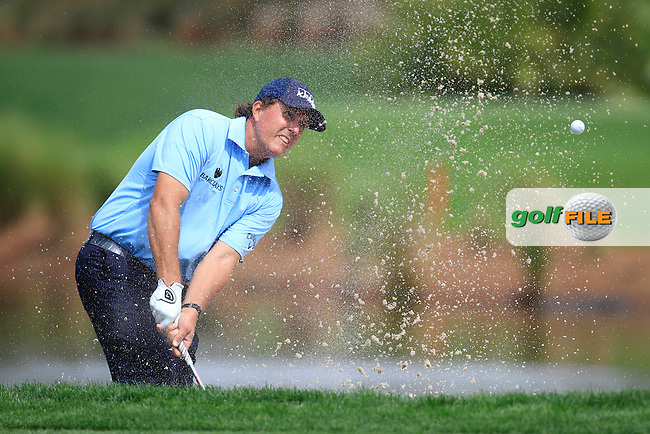 Phil Mickelson (USA) during the weather delayed round 3 on sunday at the Honda Classic from PGA National, Palm Beach Gardens, Florida.<br /> Picture: Fran Caffrey / Golffile