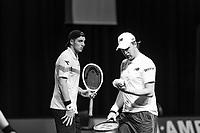 Rotterdam, The Netherlands, 9 Februari 2020, ABNAMRO World Tennis Tournament, Ahoy, Doubles: Henri KONTINEN (FIN) and Jan-Lennard STRUFF (GER).<br /> Photo: www.tennisimages.com