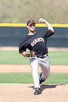 Brandon Graves, San Francisco Giants 2010 minor league spring training..Photo by:  Bill Mitchell/Four Seam Images.