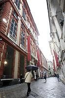 Veduta di Corso Garibaldi a Genova.<br /> View of Corso Garibaldi in Genoa.<br /> UPDATE IMAGES PRESS/Riccardo De Luca