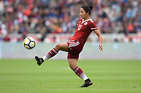 Houston, TX - Sunday April 8, 2018: Stephany Mayor during an International friendly match versus the women's National teams of the United States (USA) and Mexico (MEX) at BBVA Compass Stadium.