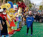 Rangers coach Jimmy Nicholl at Universal Studios, Orlando