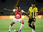 Con empate a 1 gol terminó el partido de la cuarta fecha del Torneo Apertura 2015 ente Independiente Santa Fe y Alianza Petrolera, jugado en el estadio El Campín de Bogotá.