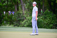 Danny Lee (NZL) watches his putt on 2 during round 3 of the Shell Houston Open, Golf Club of Houston, Houston, Texas, USA. 4/1/2017.<br /> Picture: Golffile | Ken Murray<br /> <br /> <br /> All photo usage must carry mandatory copyright credit (&copy; Golffile | Ken Murray)