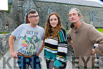 Mike Burke, Christine Brosnan and Redmond Roche who are holding a Childrens Drama course in the Ivyleaf in July
