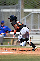 Miami Marlins Mason Davis (20) during a minor league spring training game against the New York Mets on March 30, 2015 at the Roger Dean Complex in Jupiter, Florida.  (Mike Janes/Four Seam Images)