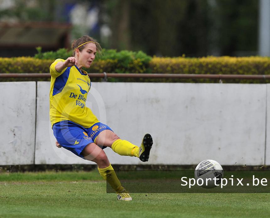 Club Brugge Dames - STVV Sint Truidense VV : Kristien Elsen.foto DAVID CATRY / Nikonpro.be