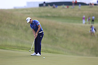 Emiliano Grillo (ARG) putts on the 3rd green during Friday's Round 2 of the 117th U.S. Open Championship 2017 held at Erin Hills, Erin, Wisconsin, USA. 16th June 2017.<br /> Picture: Eoin Clarke | Golffile<br /> <br /> <br /> All photos usage must carry mandatory copyright credit (&copy; Golffile | Eoin Clarke)