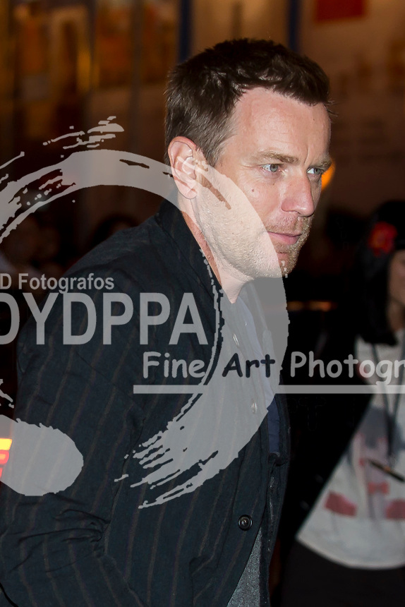 Ewan McGregor arrives
