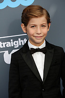 Jacob Tremblay attends the 23rd Annual Critics' Choice Awards at Barker Hangar in Santa Monica, Los Angeles, USA, on 11 January 2018. Photo: Hubert Boesl - NO WIRE SERVICE - Photo: Hubert Boesl/dpa/dpa-mag /MediaPunch ***FOR USA ONLY***