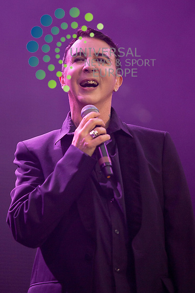Marc Almond (Soft Cell) performs at the Scottish Rewind Festival at Scone Palace, Perth on Sunday, July 22, 2012.  ..Picture: Malcolm McCurrach - Universal News and Sport (Europe) - 22/07/2012