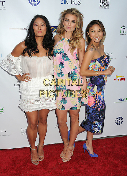 21 May 2015 - Los Angeles, California - Chloe Flower, AnnaLynne McCord, Jeannie Mai. 17th Annual CAST From Slavery to Freedom Gala held at The Skirball Center.  <br /> CAP/ADM/BP<br /> &copy;Byron Purvis/AdMedia/Capital Pictures