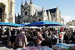20080202 - France - Aquitaine - Bordeaux<br /> LE MARCHE SAINT-MICHEL, PLACE SAINT-MICHEL A BORDEAUX.<br /> Ref : MARCHE_009.jpg - © Philippe Noisette.