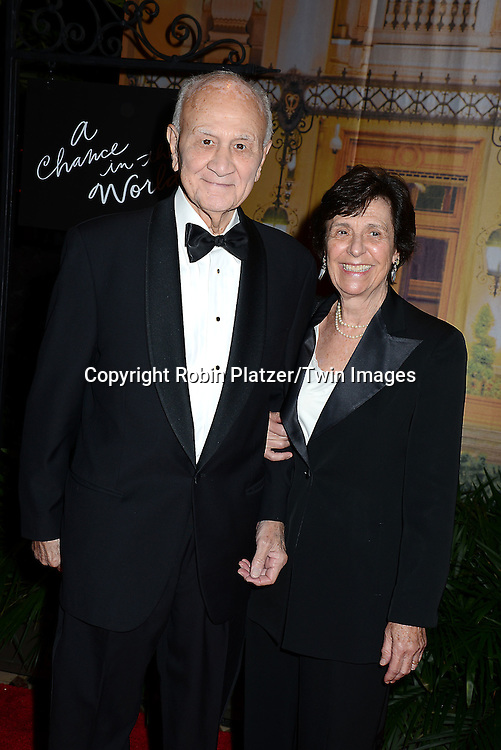 Nicholas Scoppetta and wife attend the New Yorkers for Children's Fall Gala on September 16, 2015 at Cipriani 42nd Street in New York City, New York, USA.<br /> <br /> photo by Robin Platzer/Twin Images<br />  <br /> phone number 212-935-0770