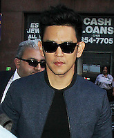 NEW YORK, NY-July 27: John Cho at Today Show  to talk about  Star Trek Beyond in New York. NY July 27, 2016. Credit:RW/MediaPunch