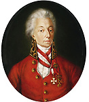 Charles Joseph Prince de Ligne (1735-1814), russischer Feldmarschall, &ouml;sterreichischer Offizier. Gem&auml;lde. Heeresgeschichtliches Museum, Wien, &Ouml;sterreich<br /> <br /> - 01.01.1800-31.12.1800<br /> <br /> Es obliegt dem Nutzer zu pr&uuml;fen, ob Rechte Dritter an den Bildinhalten der beabsichtigten Nutzung des Bildmaterials entgegen stehen.<br /> <br /> Charles Joseph Prince de Ligne (1735-1814), Russian Fieldmarshal, Austrian officer, one of the gracious hosts of the Congress of Vienna (1814/1815). He wears the uniform of a Captain of the Imperial Bodyguard.<br /> <br /> - 01.01.1800-31.12.1800<br /> <br /> It is in the duty of the user of the image to clear prior to usage if any Third Party rights preclude the intended use.