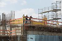 Berlin, Grundsteinlegung für das Humboldtforum am Mittwoch (11.06.13) am Schlossplatz in Berlin. Foto: Maja Hitij/CommonLens