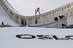 HOLMENKOLLEN, OSLO, NORWAY - March 17: Line Jahr of Norway (NOR) during the Ladies FIS Ski Jumping World Cup from the large hill HS 134 Holmenkollbakken on March 17, 2013 in Oslo, Norway. (Photo by Dirk Markgraf)