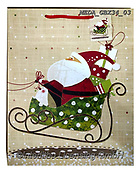 Dreams, CHRISTMAS SANTA, SNOWMAN, WEIHNACHTSMÄNNER, SCHNEEMÄNNER, PAPÁ NOEL, MUÑECOS DE NIEVE, paintings+++++,MEDAGBX34/03,#X#