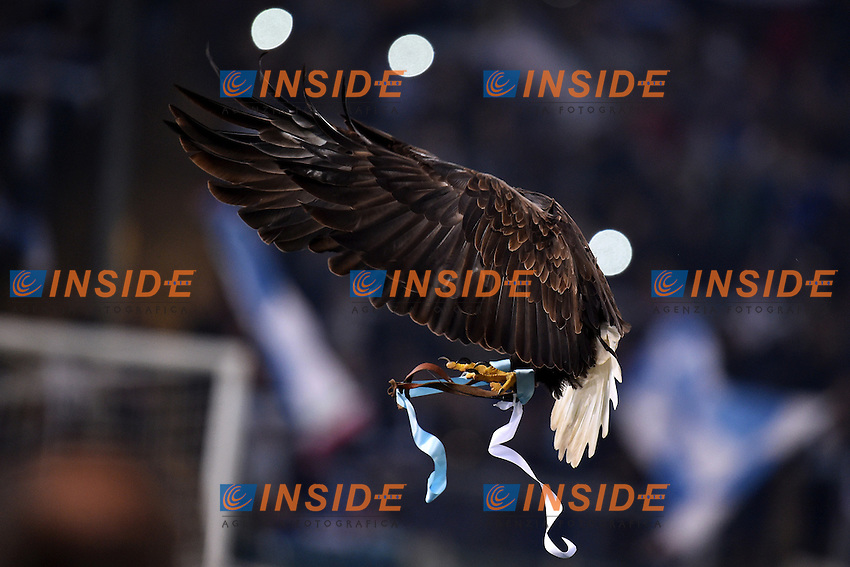 SS Lazio mascotte Aquila Olimpia. Eagle <br /> Roma 22-11-2014 Stadio Olimpico, Football Calcio Serie A . Lazio - Juventus. Foto Andrea Staccioli / Insidefoto