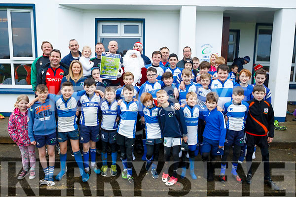 Attending the launch of the Tralee Rugby Club's St Stephens Day 5k Family Fun run or Walk at the Tralee Rugby Club on Saturday morning last.