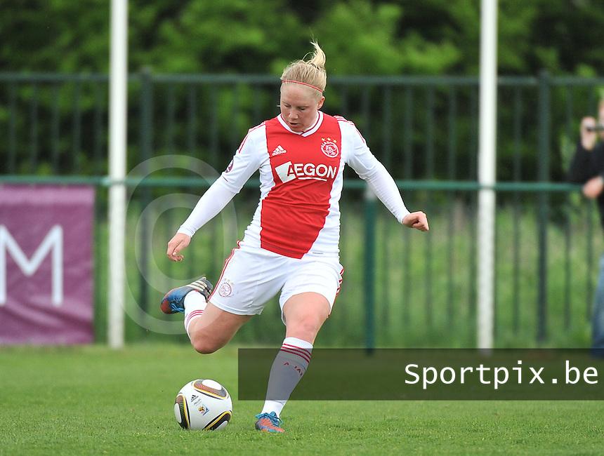 RSC Anderlecht Dames - Ajax Amsterdam : Linda Bakker.foto DAVID CATRY / Nikonpro.be