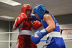 Rachel Pritchard (Wales) Vs. Chereneka Johnson (Aus) - Aus wins 35-13..Boxing - Wales v Australia WABA - 2nd November 2012 - Sophia Gardens - Cardiff - Wales - UK..© www.sportingwales.com- PLEASE CREDIT IAN COOK - SPORTINGWALES