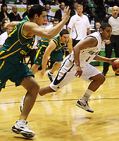 Tall Blacks guard Corey Webster during the International basketball match between the NZ Tall Blacks and Australian Boomers at TSB Bank Arena, Wellington, New Zealand on 25 August 2009. Photo: Dave Lintott / lintottphoto.co.nz
