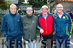 Pictured at the Tony O'Donoghue Memorial walk in Blennerville on Saturday last were l-r: Bert Moriarty, Mossie Brosnan, Donal Brosnan and Michael Crean.