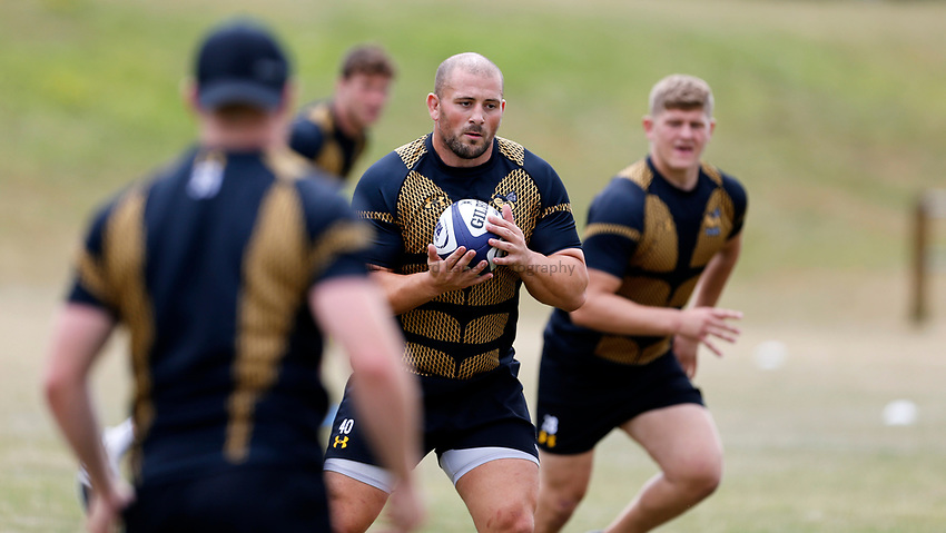 Photo: Richard Lane Photography. Wasps Training. 10/07/2017. Wasps' Jake Cooper-Woolley.