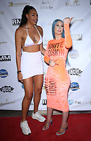 26 July 2019 - Las Vegas, NV - Liz Cambage, Iggy Azalea. ALL STAR BEACH CONCERT featuring Iggy Azalea & Snoop Dogg @ Mandalay Bay Beach during #WNBA All Weekend 2019.  Photo Credit: MJT/AdMedia