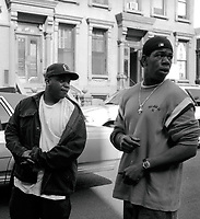 Craig Mack, the New York rapper who scored a 1994 hit with Flava in Ya Ear, has died of heart failure, aged 46<br /> ***FILE PHOTO*** Craig Mack Has Passed Away<br /> David Styles of The L.O.X. and Craig Mack <br /> @ video shoot for G-Dep, 'Special Delivery'<br />  NYC 2002<br /> CAP/MPI/BUN<br /> &copy;BUN/MPI/Capital Pictures