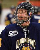 Spencer Heichman (Quinnipiac - 44) - The visiting Quinnipiac University Bobcats defeated the Harvard University Crimson 3-1 on Wednesday, December 8, 2010, at Bright Hockey Center in Cambridge, Massachusetts.