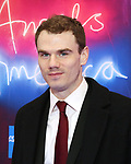 """Jay Armstrong Johnson attends the Broadway Opening Night Arrivals for """"Angels In America"""" - Part One and Part Two at the Neil Simon Theatre on March 25, 2018 in New York City."""