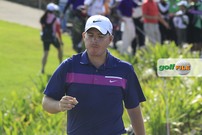 James Morrison (ENG) walks down the 10th hole during Sundays Final Round 3 of the 54 hole Iskandar Johor Open 2011 at the Horizon Hills Golf Resort Johor, Malaysia, 19th November 2011 (Photo Eoin Clarke/www.golffile.ie)