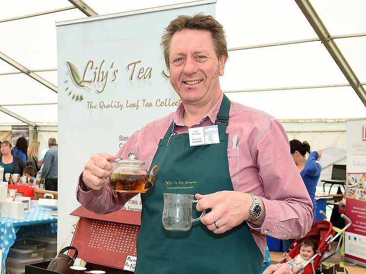 Dominic McGroddy from Lily's Tea rooms pictured at the Taste of Meath at Oldbridge House open day. Photo:Colin Bell/pressphotos.ie