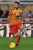 Fabio Lucioni of US Lecce <br /> Lecce 01-03-2020 Stadio Via del Mare <br /> Football Serie A 2019/2020 <br /> US Lecce - Atalanta BC<br /> Photo Carmelo Imbesi / Insidefoto