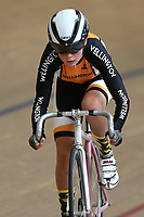 Zoe Perry of Wellington competes in the U15 Girls 500m Time Trial at the Age Group Track National Championships, Avantidrome, Home of Cycling, Cambridge, New Zealand, Wednesday, March 15, 2017. Mandatory Credit: © Dianne Manson/CyclingNZ  **NO ARCHIVING**