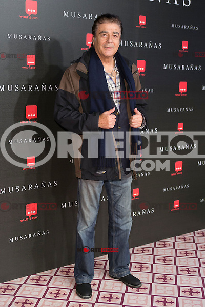 "Maximo Valverde attend the Premiere of the movie ""Musaranas"" in Madrid, Spain. December 17, 2014. (ALTERPHOTOS/Carlos Dafonte) /NortePhoto /NortePhoto.com"